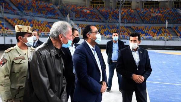 المستقبل الاقتصادي | رئيس الوزراء يتفقد مجمع الصالات المغطاة باستاد القاهرة  استعدادا لبطولة العالم لكرة اليد